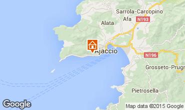Karte Ajaccio Studio 66053
