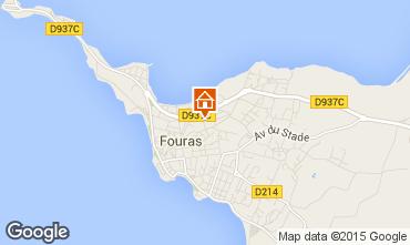 Karte Fouras Ferienunterkunft auf dem Land 49073