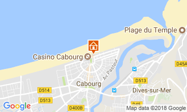 Karte Cabourg Appartement 113997