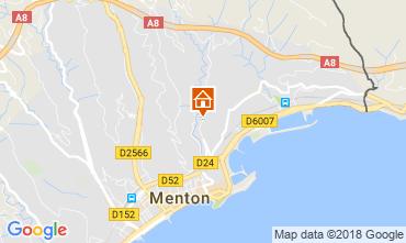 Karte Menton Appartement 115764