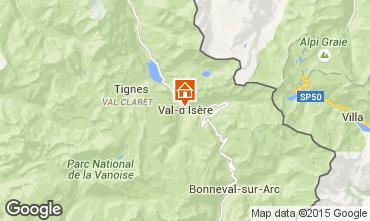 Karte Val d'Isère Appartement 3359
