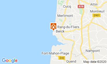 Karte Berck-Plage Appartement 91344