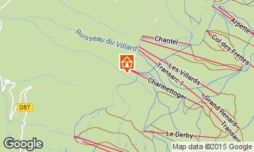 Karte Les Arcs Appartement 101287