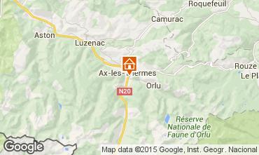 Karte Ax Les Thermes Appartement 72066