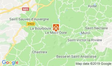 Karte Le Mont Dore Appartement 3876
