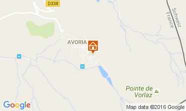 Karte Avoriaz Studio 107145