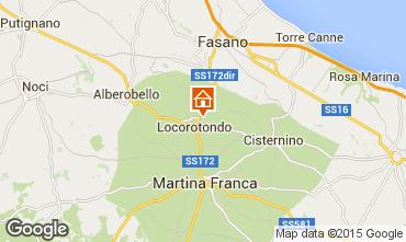 Karte Alberobello Chalet 16444