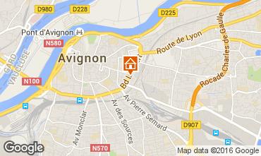 Karte Avignon Studio 102312