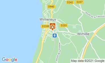 Karte Wimereux Villa 88410