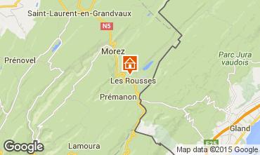 Karte Les Rousses Appartement 3772