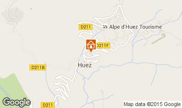 Karte Alpe d'Huez Chalet 100569