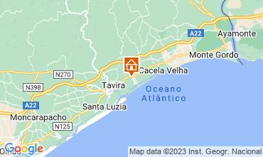 Karte Cabanas de Tavira Appartement 56656
