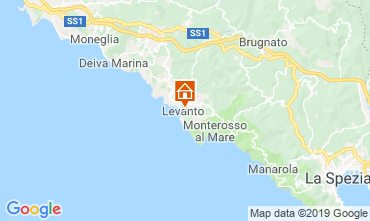 Karte Levanto Appartement 117323