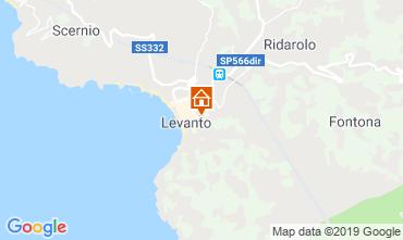 Karte Levanto Appartement 117323