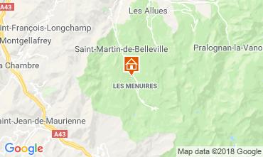 Karte Les Menuires Chalet 100576