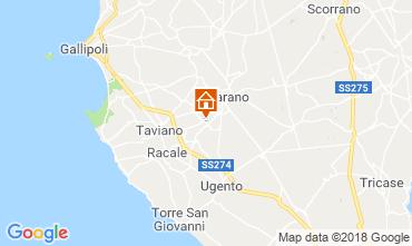 Karte Casarano Villa 116433