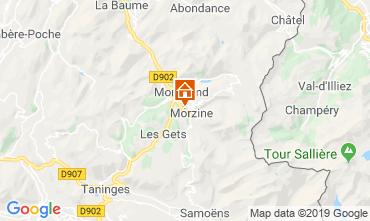Karte Morzine Chalet 117973