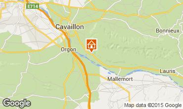 Karte Cavaillon Villa 92129