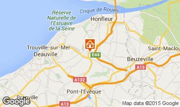 Karte Honfleur Haus 7708