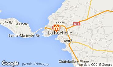 Karte La Rochelle Ferienunterkunft auf dem Land 75124