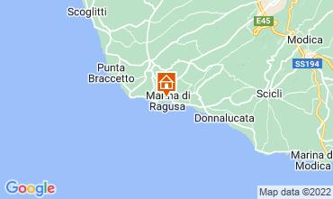 Karte Marina di Ragusa Appartement 92332