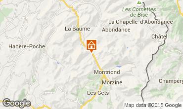 Karte Saint Jean d'Aulps- La Grande Terche Studio 2513