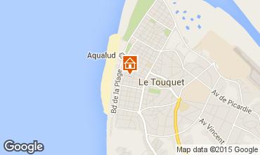 Karte Le Touquet Appartement 101891