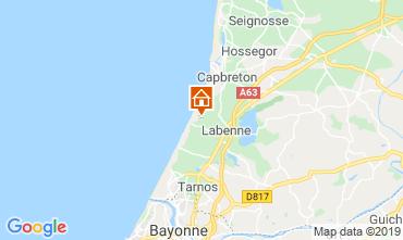 Karte Labenne Oc�an Mobil-Home 102283