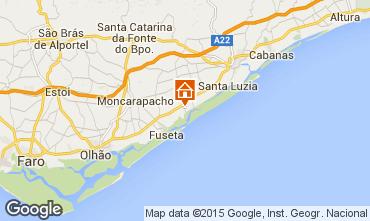 Karte Luz de Tavira Ferienunterkunft auf dem Land 78897