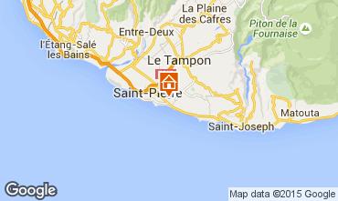 Karte Saint Pierre (R�union) Appartement 102126
