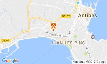 Karte Juan les Pins Appartement 107886