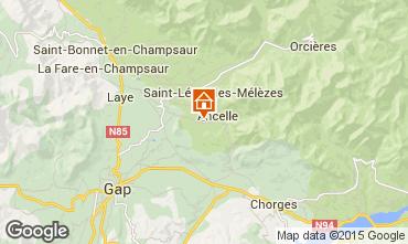 Karte Ancelle Chalet 526