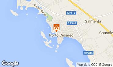 Karte Porto Cesareo Appartement 55081
