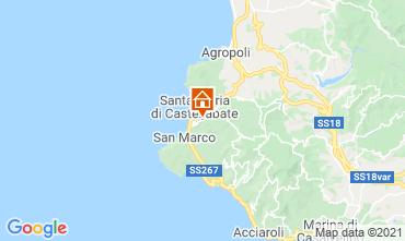 Karte Castellabate Appartement 48956