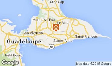 Karte Sainte Anne (Guadeloupe) Ferienunterkunft auf dem Land 8024