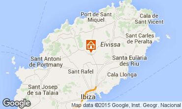 Karte Santa Eulalia del R�o Villa 94873