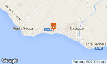 Karte Santa Croce Camerina Appartement 100482