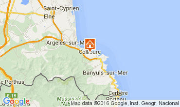 Karte Collioure Appartement 102973