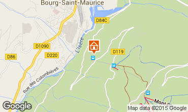 Karte Les Arcs Appartement 197