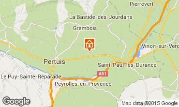 Karte La Tour d'Aigues Appartement 71471