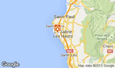 Karte La Saline les Bains Villa 75877