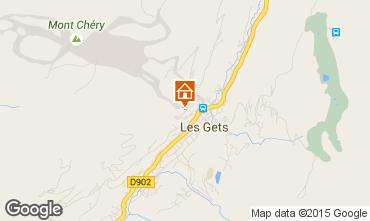 Karte Les Gets Chalet 1350