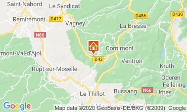 Karte La Bresse Hohneck Appartement 4566