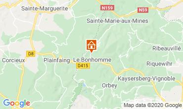 Karte Wintersportort Lac Blanc Chalet 4523