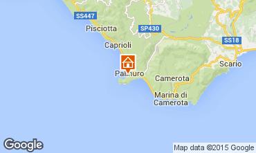 Karte Palinuro Appartement 76514