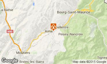 Karte La Plagne Chalet 64818