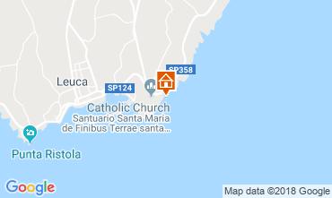 Karte Santa Maria di Leuca Außergewöhnliche Unterkunft 55854