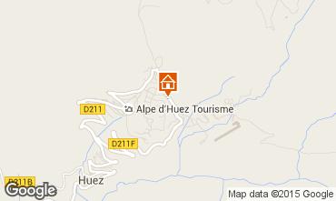 Karte Alpe d'Huez Appartement 89990