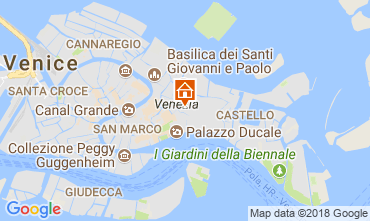 Karte Venedig Appartement 113527