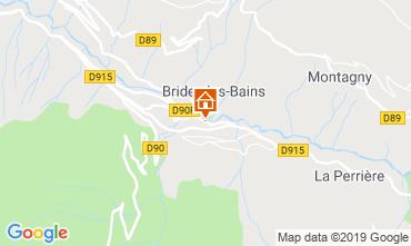 Karte Brides Les Bains Appartement 4914